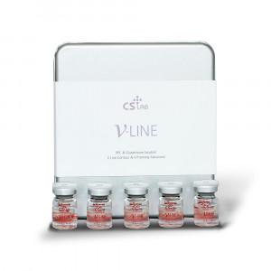 CS Lab V Line lipolysis for face and body, V-Line lipolytics Korea - Injection use. - 1box /10 ampoules