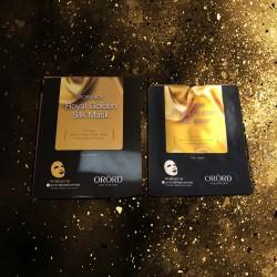 Royal Golden Silk face mask ORORD Korea
