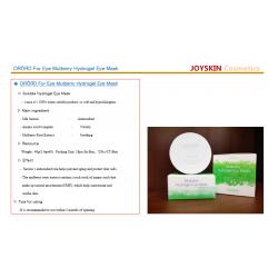 Eye patch Anti-aging Professional Eye Mask ORORD, Joyskin - Hydra-Gel Eye Patches Korea