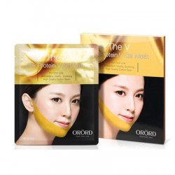 Royal Golden Silk mask ORORD, Joyskin - Lipolytic mask V LIFTING FACE MASK Korea - 1 pack