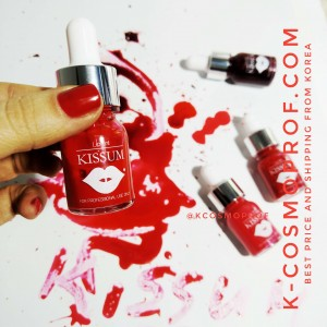 Kissum tint for lips - 1 set