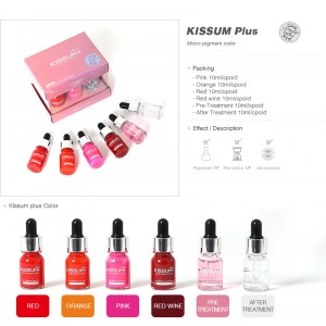 Kissum PLUS tint for lips - 1 set