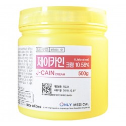 Anesthetic Cream J-Cain numb cream with lidocaine 500g