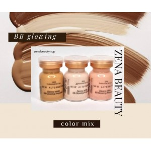 Zena BB glowing mix color set - bb colow kit 10 ampoules /1 box