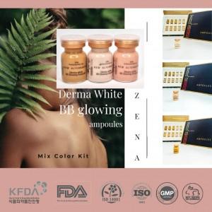 Zena BB glowing mesowhite treatment color #25 5ml * 10 ampoules /1 box