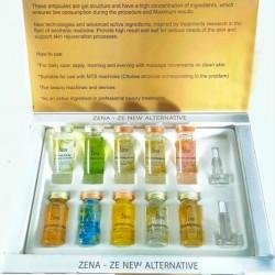 ZENA Ampoules mix set CustomZena Packing - 10 pcs