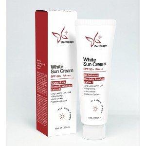 Dermagen Sunscreen Cream SPF50+ PA+++ Prof.Cosmeceutical Glutathione White Sun - 50g
