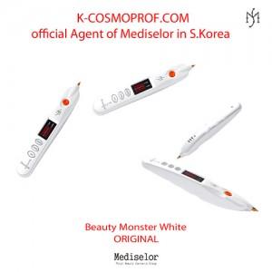 Beauty Monster White ORIGINAL MEDISELOR Plasma Pen - Non-surgical blepharoplasty device S. Korea