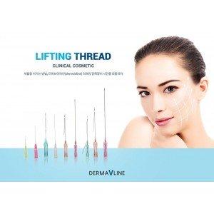 Derma V Line lifting threads SCREW TYPE Korea